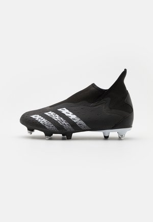 PREDATOR FREAK .3 LL SG - Screw-in stud football boots - core black/footwear white