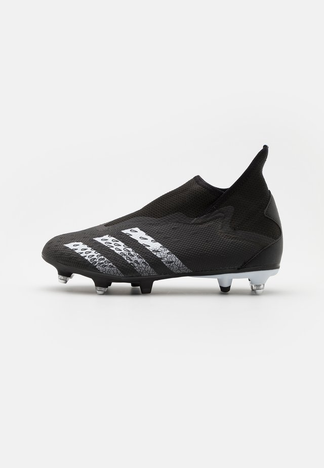 PREDATOR FREAK .3 LL SG - Voetbalschoenen met metalen noppen - core black/footwear white