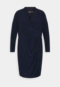 Lauren Ralph Lauren Woman - FARIA LONG SLEEVE DAY DRESS - Vestito estivo - lighthouse navy - 0