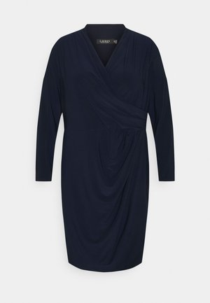 FARIA LONG SLEEVE DAY DRESS - Vestido informal - lighthouse navy