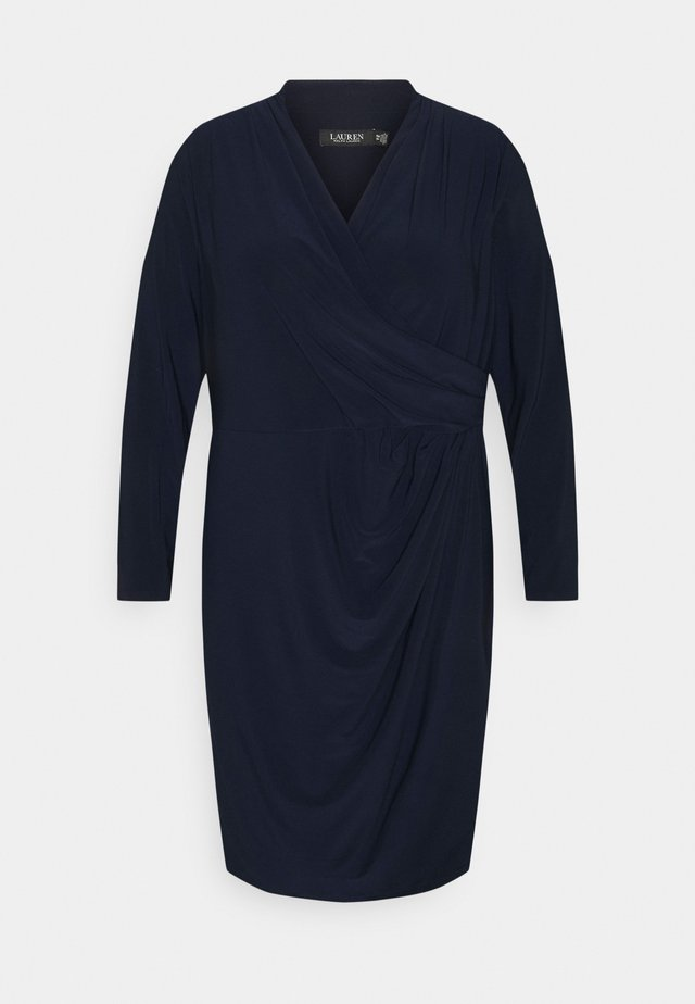 FARIA LONG SLEEVE DAY DRESS - Vardagsklänning - lighthouse navy