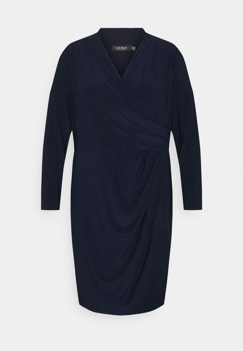 Lauren Ralph Lauren Woman - FARIA LONG SLEEVE DAY DRESS - Vestito estivo - lighthouse navy