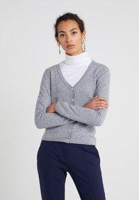 FTC Cashmere - CARDIGAN - Cardigan - opal grey - 0