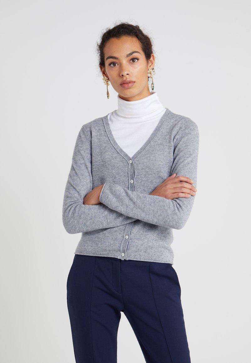 FTC Cashmere - CARDIGAN - Cardigan - opal grey
