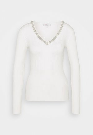 FAUSTI - Strickpullover - off white