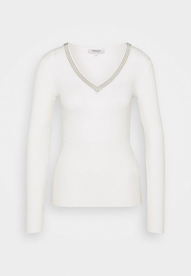 FAUSTI - Pullover - off white