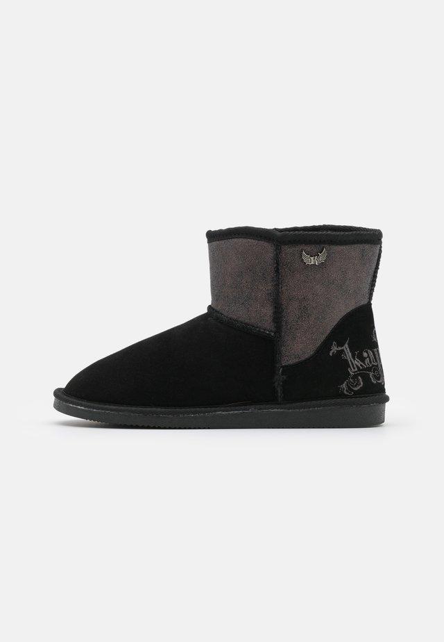 TIGNES - Korte laarzen - noir