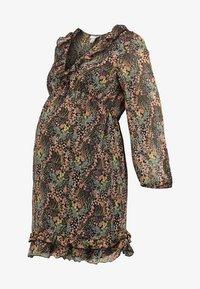 Topshop Maternity - RUFFLE MINI - Day dress - multi - 4