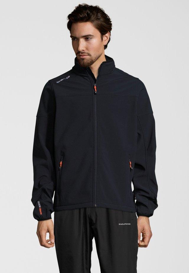 DUBLIN - Soft shell jacket - dark blue