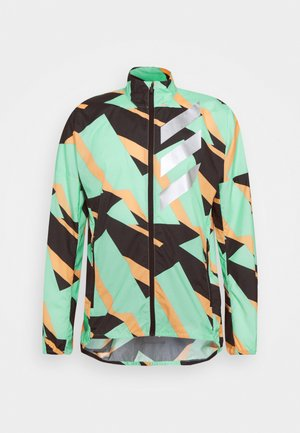 WIND  - Waterproof jacket - acid mint