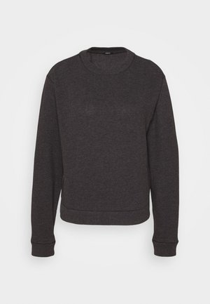 SHOWA CREW - Strickpullover - charcoal marl
