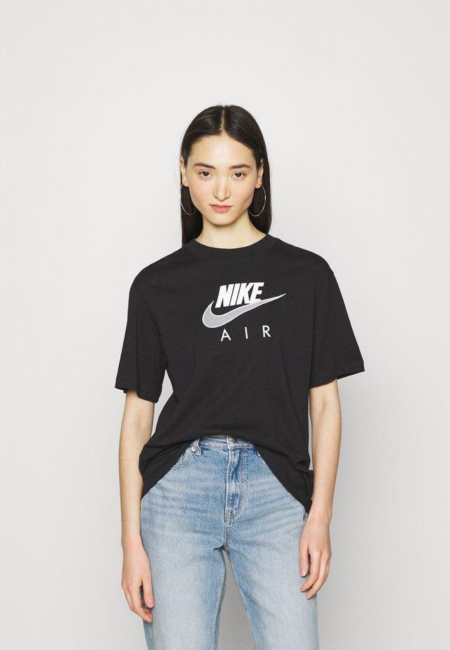 AIR  - Print T-shirt - black/white