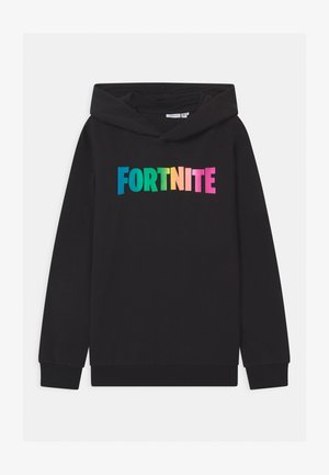 NKMFORTNITE - Jersey con capucha - black
