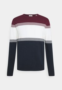 Esprit - COO F STRIP  - Trui - dark red - 0