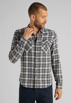 CLEAN WESTERN - Shirt - grey mele
