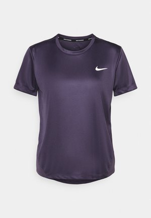 MILER - T-shirts med print - dark raisin