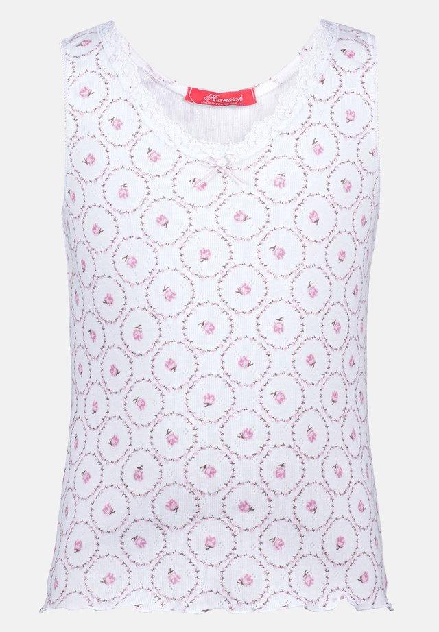 ROSE DESIGN - Undershirt - pink
