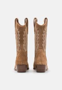 Alpe - ROSE - Cowboy/Biker boots - cognac - 3