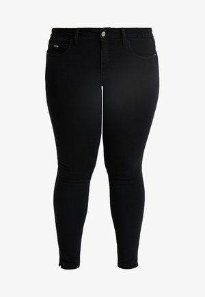 CARKARLA ANKLE ZIP - Jeans Skinny Fit - black