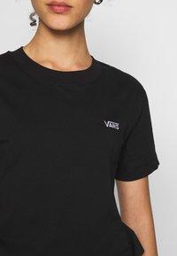 Vans - BOXY - T-shirt basic - black - 5