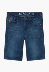 Staccato - BERMUDAS TEENAGER - Džínové kraťasy - blue denim - 2