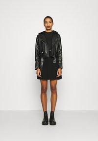 Calvin Klein Jeans - JACKET - Bunda zumělé kůže - black - 1
