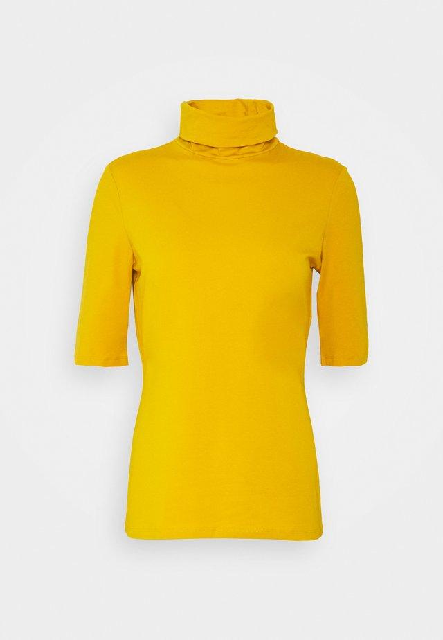 FLOW CORE - Jednoduché triko - brass yellow
