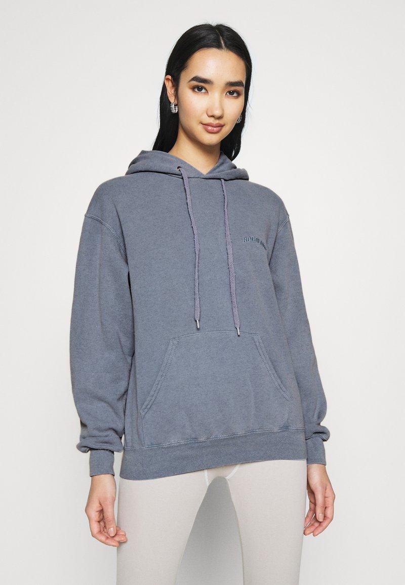 BDG Urban Outfitters - SKATE HOODIE - Hoodie - blue