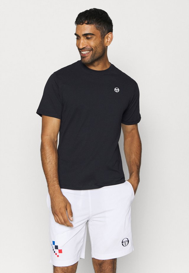 RUN - Basic T-shirt - black/white