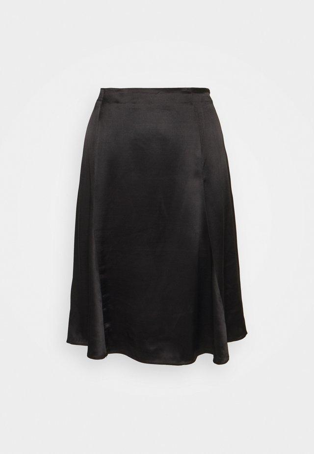 SLFMARALDA  - A-line skirt - black