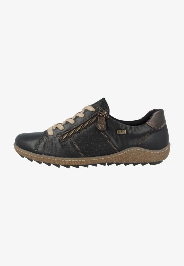 Sportieve veterschoenen - black combination