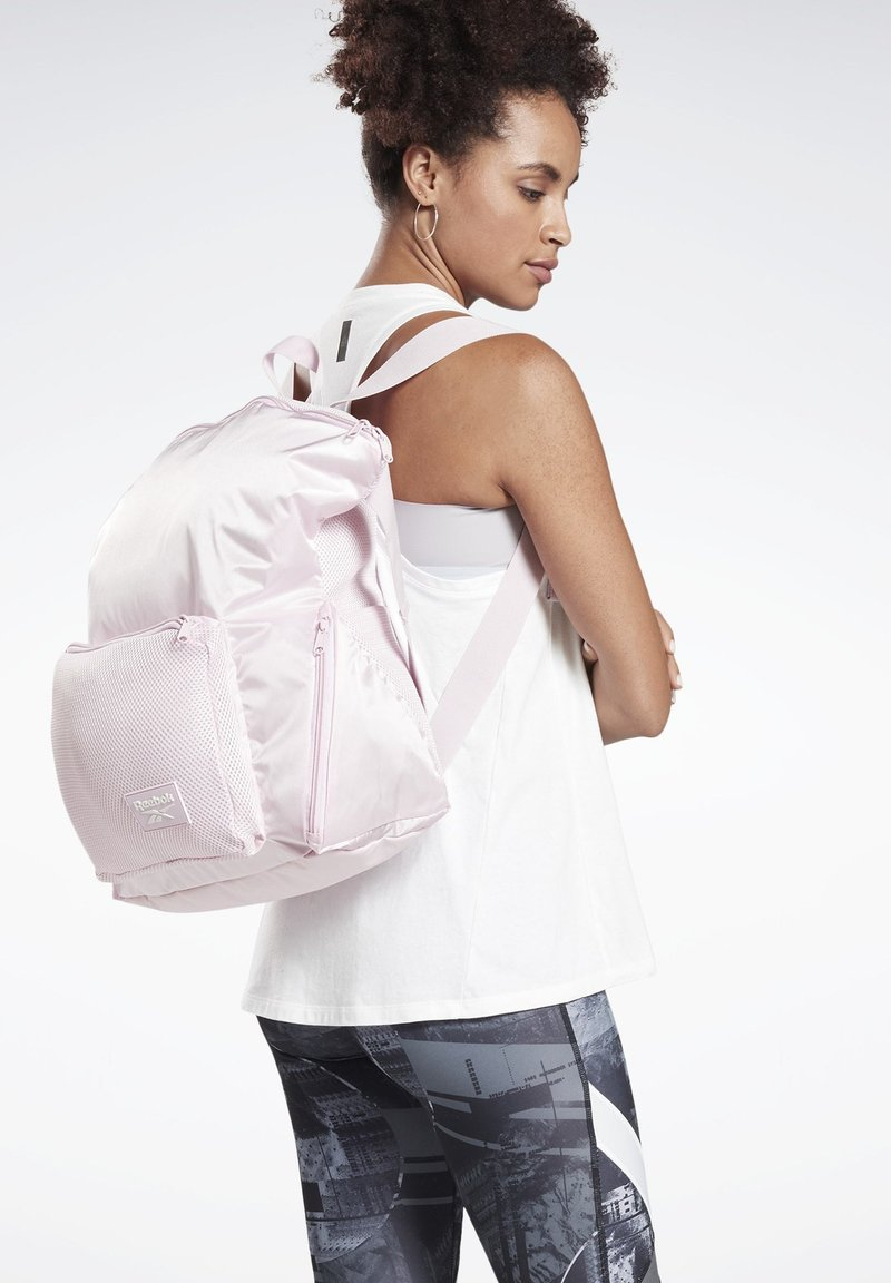 Reebok - ACTIVE ENHANCED BACKPACK - Sac à dos - pink