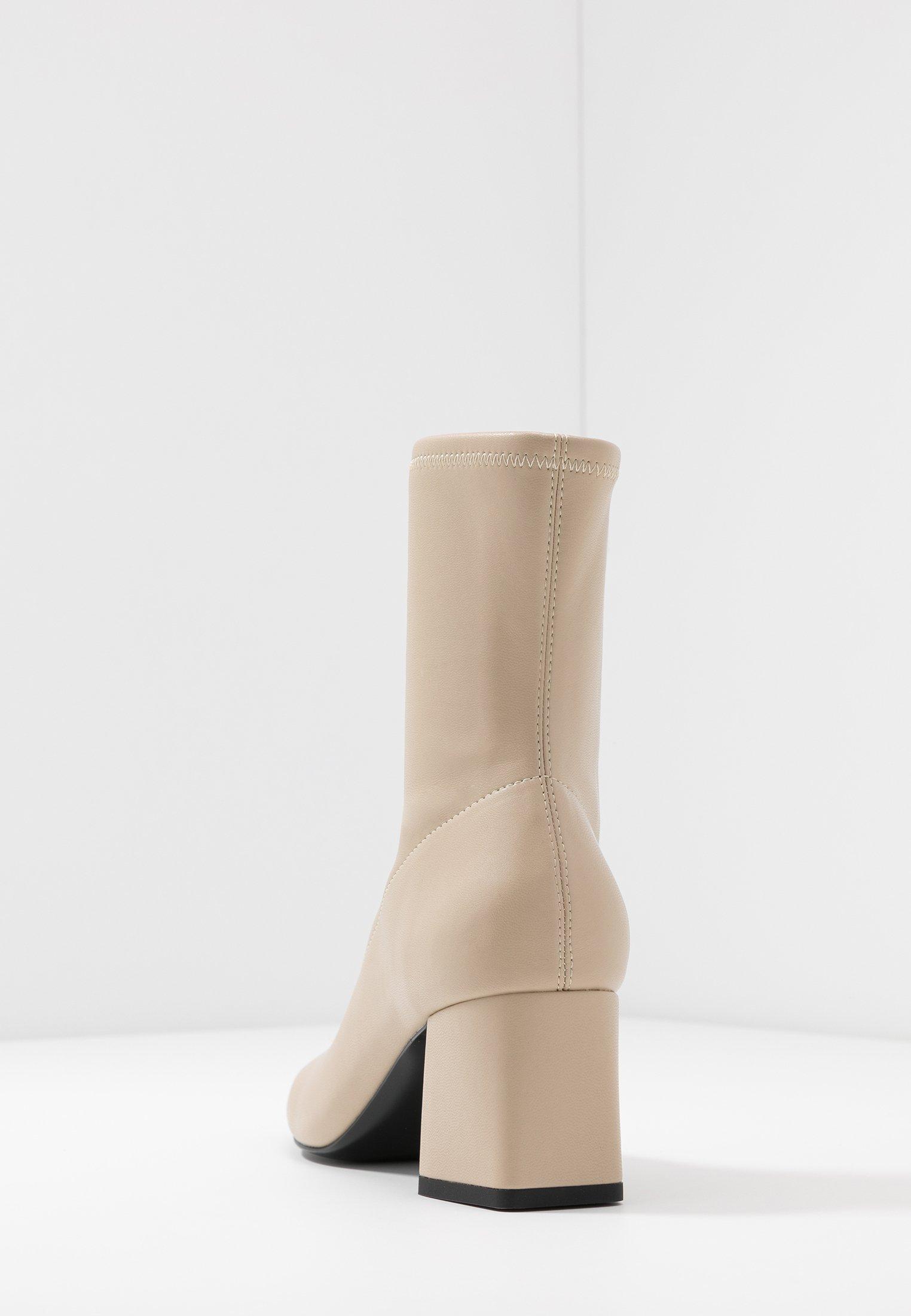 Monki Vegan Leia Boot - Støvletter Beige