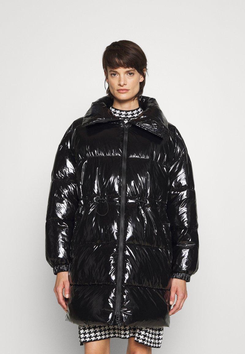HUGO - FENIA - Płaszcz zimowy - black