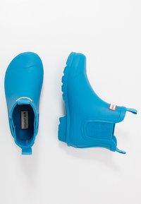 Hunter ORIGINAL - ORIGINAL KIDS CHELSEA - Botas de agua - blue bottle - 0