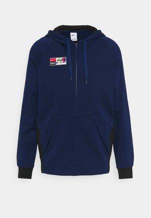 FC HOODIE - Sweater met rits - blue void/black/black