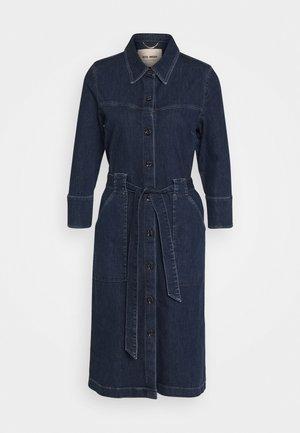SELBY DRESS - Denim dress - blue