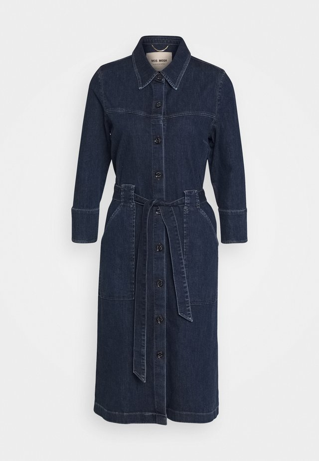 SELBY DRESS - Farkkumekko - blue