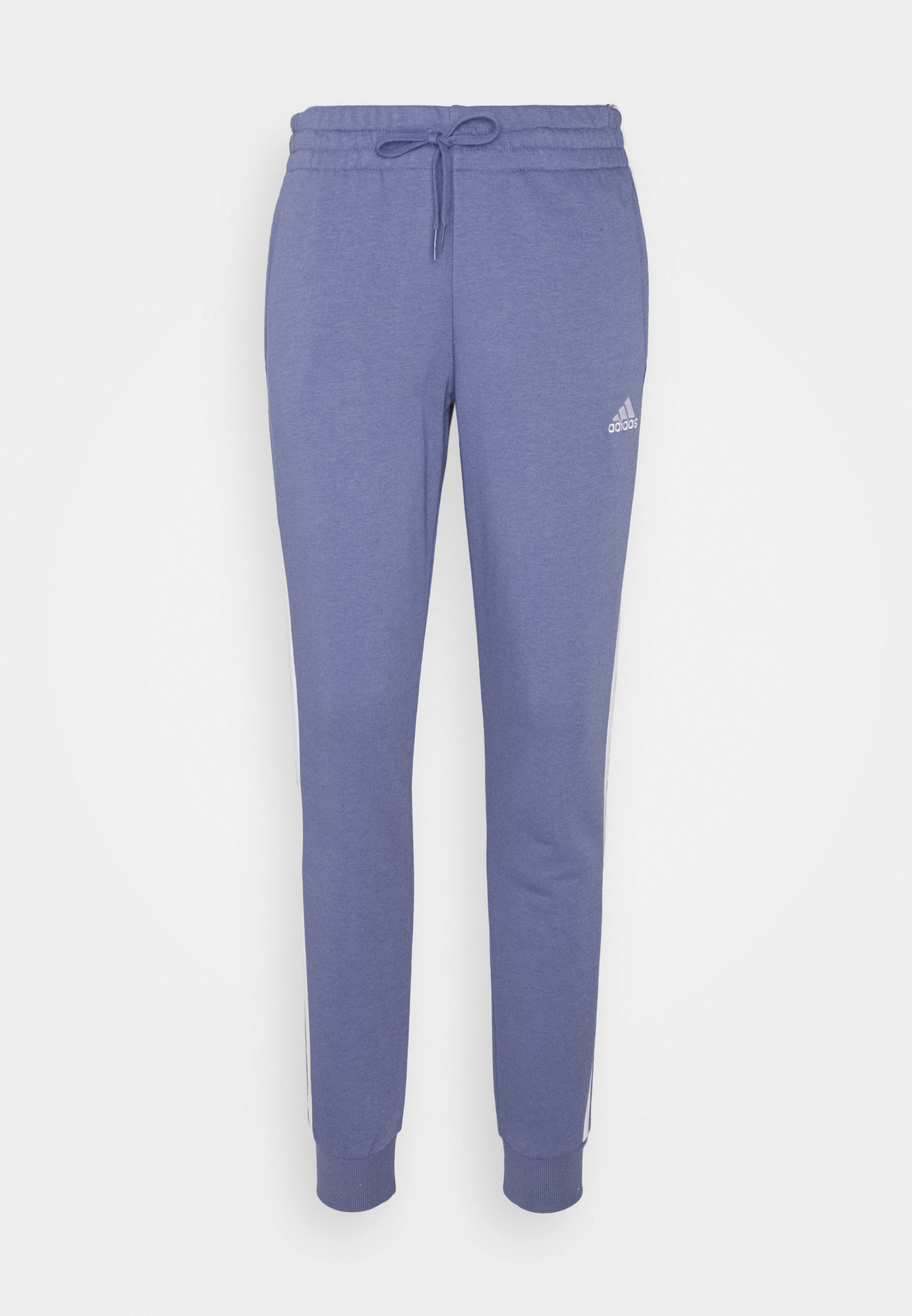 Women ESSENTIALS FRENCH TERRY STRIPES PANTS - Tracksuit bottoms