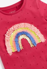 Next - CONFETTI RAINBOW - Print T-shirt - pink - 2