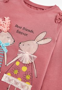 Next - BUNNY - Long sleeved top - pink - 2