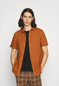 Scotch & Soda - CLASSIC SHORT - Košile - tobacco - 0