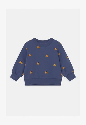 DOGS BABY UNISEX - Sweatshirt - soft blue/honey