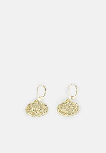 DAY PENDANT EAR PLAIN - Earrings - gold-coloured
