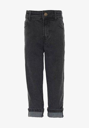 Slim fit jeans - black stone wash
