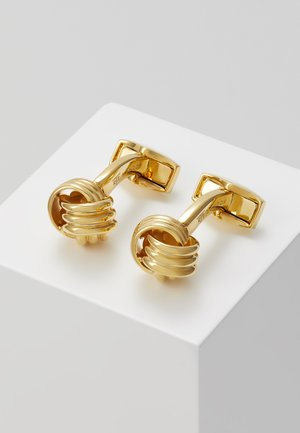 KNOT - Cufflinks - gold-coloured
