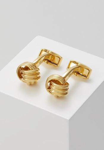 KNOT - Boutons de manchette - gold-coloured