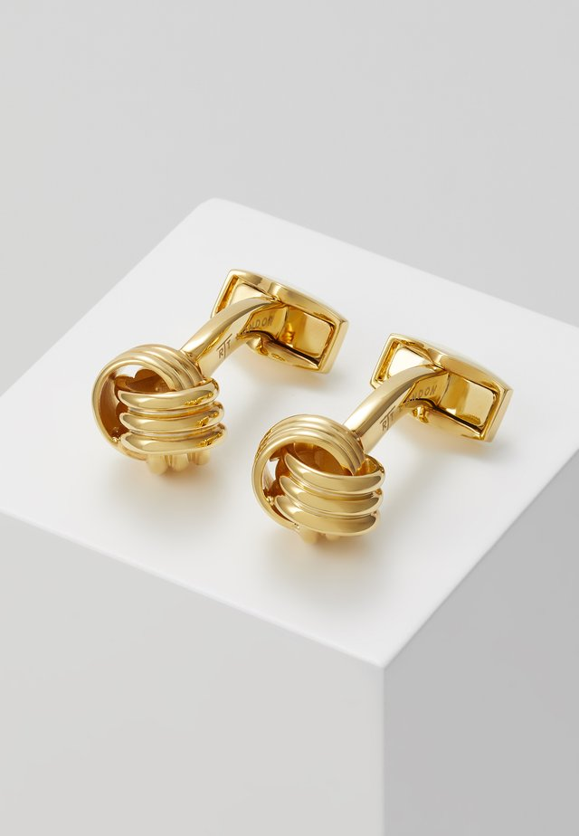 KNOT - Boutons de manchette - gold-coloured