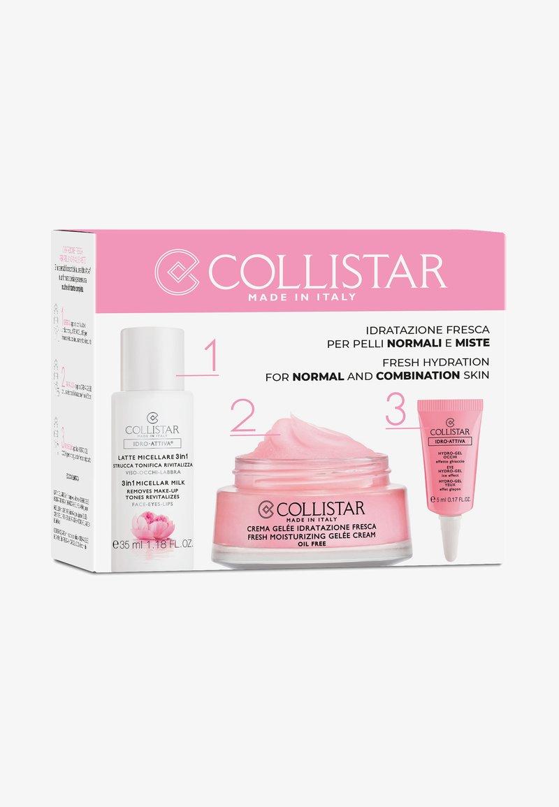 Collistar - FRESH MOISTURIZING GELÉE CREAM KIT - Skincare set - -