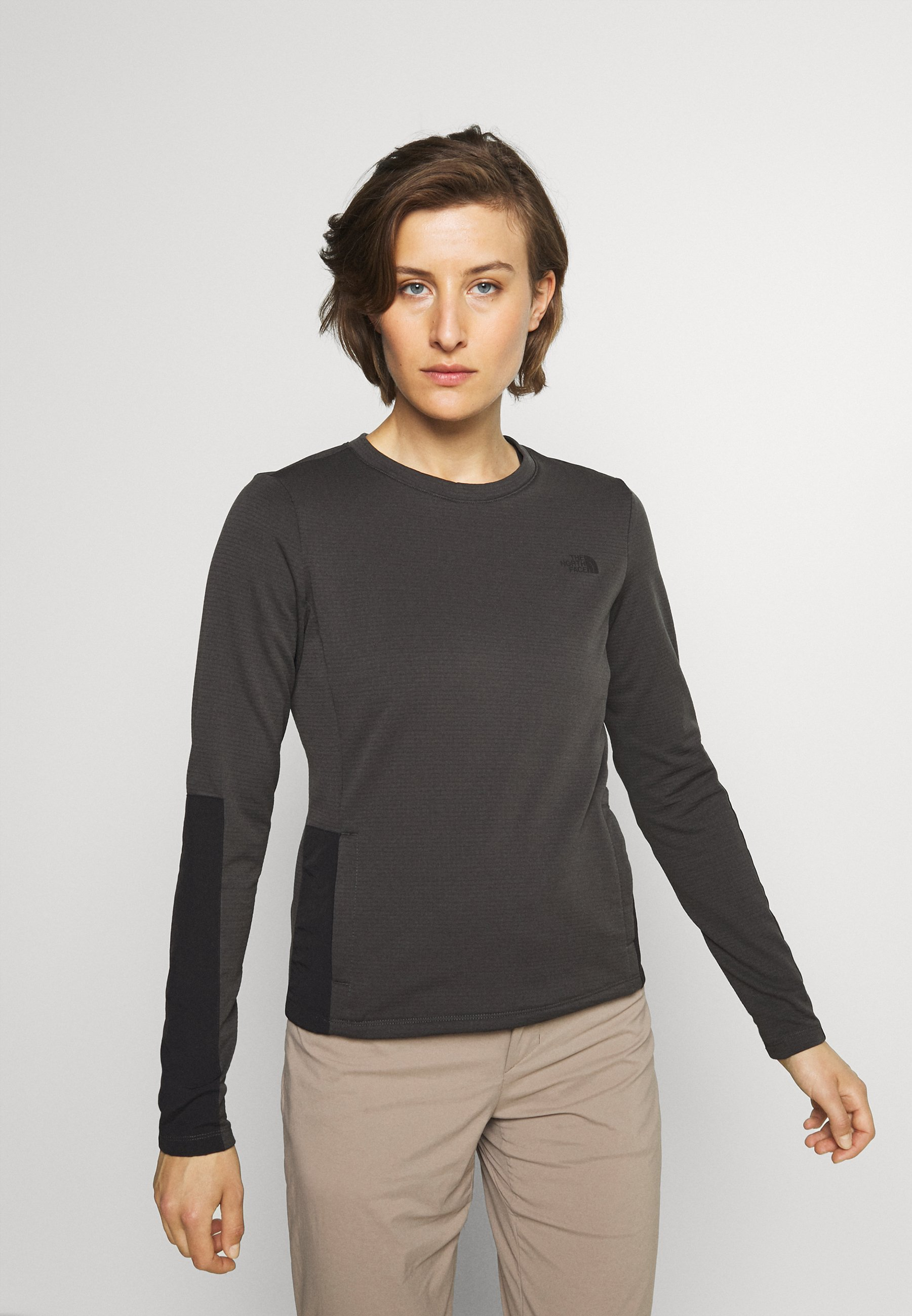 Women WAYROUTE CREW ASPHALT - Sweatshirt